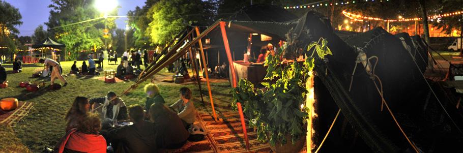 Location de tente pour des festivals, concerts ou expositions