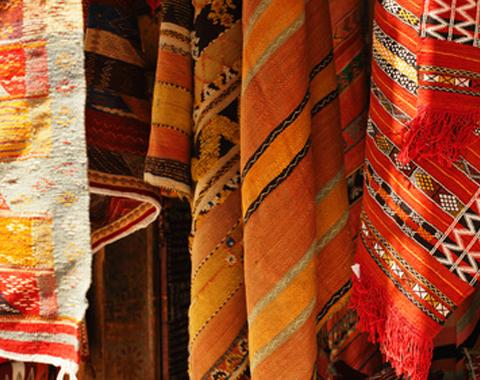 Décoration tentes orientales et artisanat