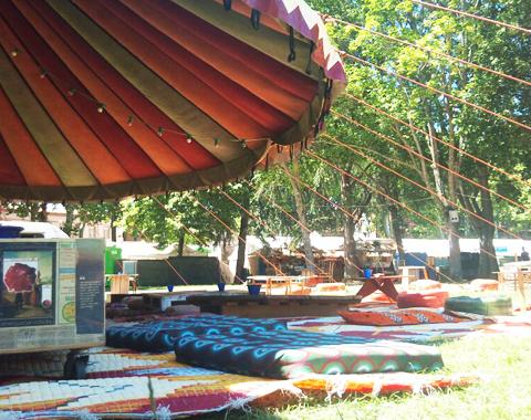 Location de chapiteau pour festival, mariage, ...