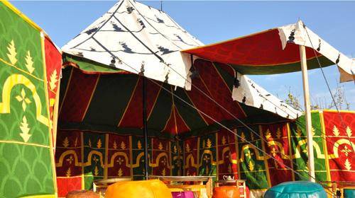 vente de tente Marocaines Caidales, Khaimas et chapiteau